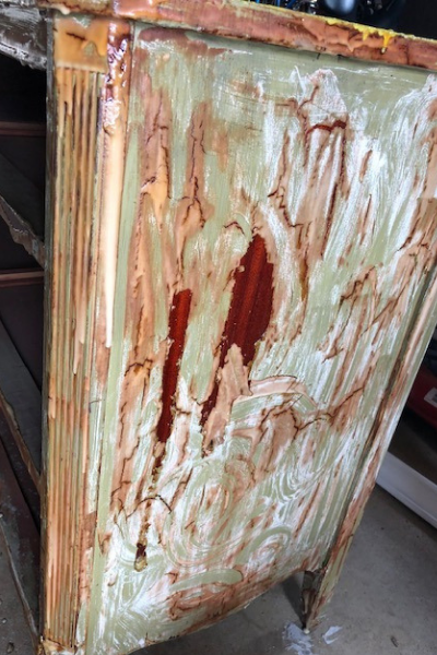 stripping painting furniture