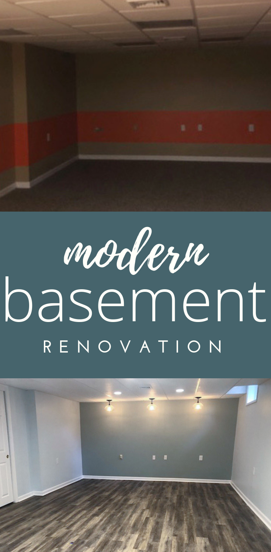 finished basement renovation