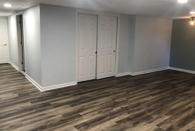 updating a finished basement renovatio