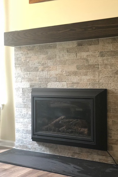 mantel fireplace renovation #design #fireplace #mantel #interiordesign #renovation