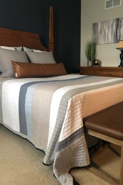guest bedroom renovation lehigh valley interior designer