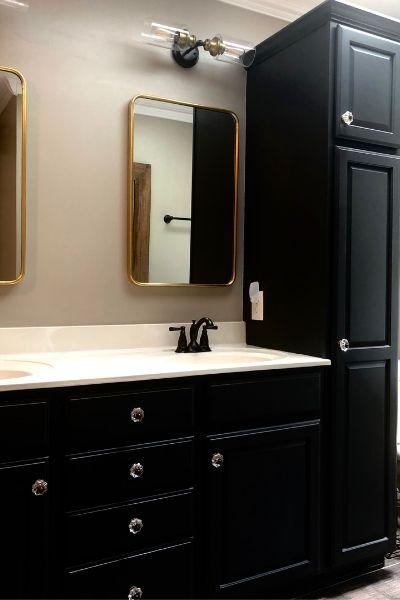bath room renovation lehigh valley interior designer