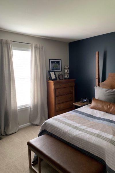 college student bedroom renovation