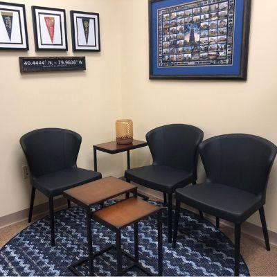 doctor's office renovation lehigh valley interior designer
