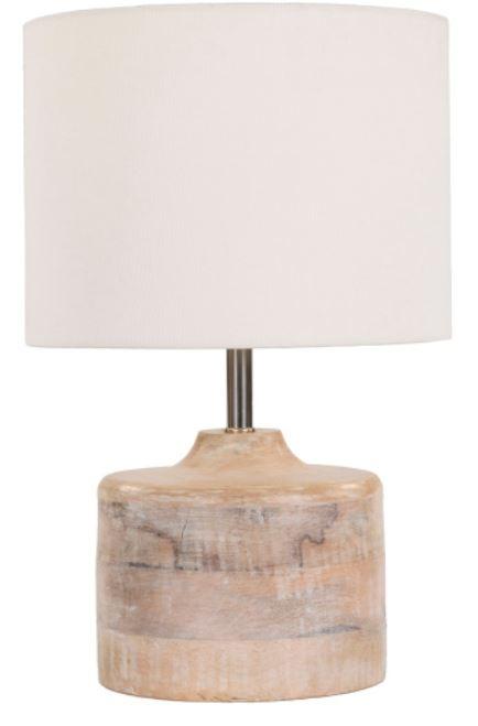 bleached wood table lamp lehigh valley interior designer fd design