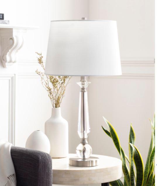crystal table lamp lehigh valley interior designer jaime basssett