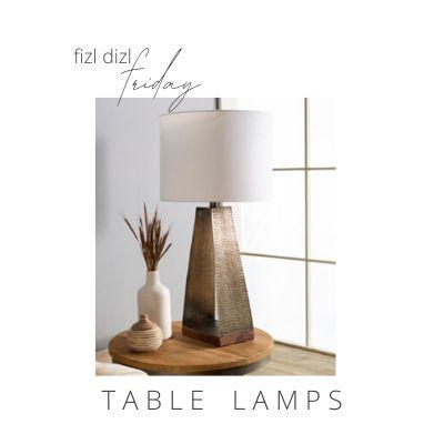 FizlDizl Friday Favorite Table Lamps
